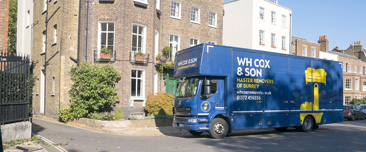 Moving from London to Surrey with WH Cox