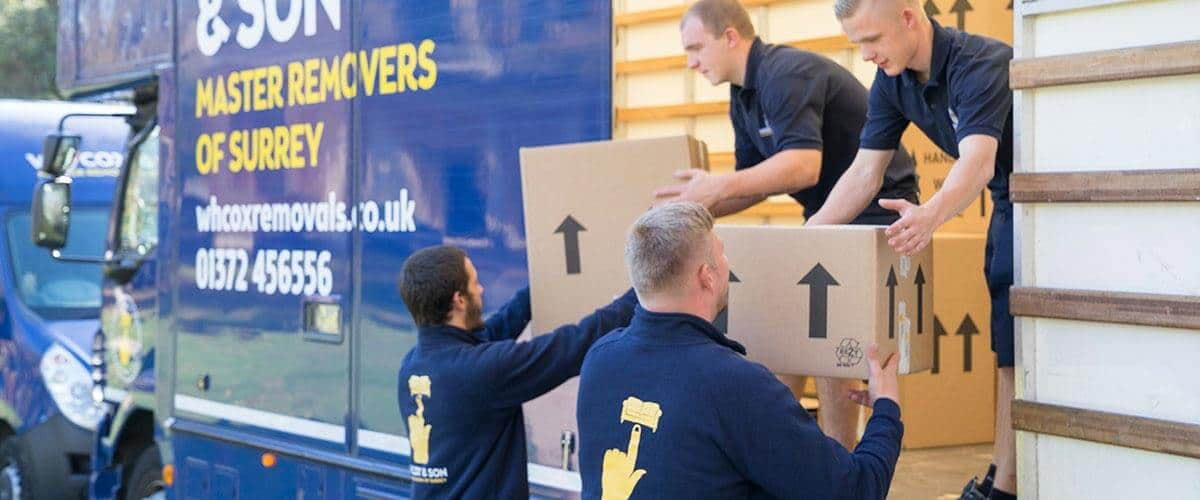 National Relocation Services with WH Cox & Son Removals Surrey